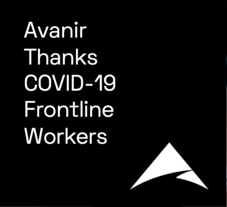 Avanir Thanks Covid-19 Frontline Workers